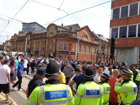 EDL (English Defence League) @ Sheffield