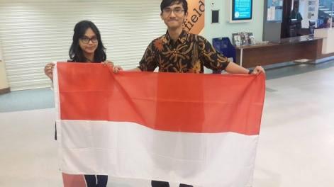 Rizanesia Citrasari dan Indra Yudhipratama berpartisipasi dalam kegiatan ini