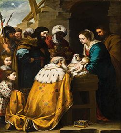 Adoration of the Magi oleh Bartolome Esteban Murillo (courtesy: wikipedia)