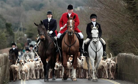 Boxing Day Hunts (courtesy: The Telegraph)