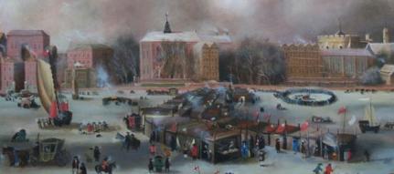 The Frost Fair oleh Rita Greer (Courtesy: wikipedia)